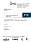 Transcript of Investors Conference Call [Company Update]