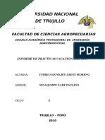 Informe de Practicas de Harinas y Cereales- Yuriko Saenz Moreno