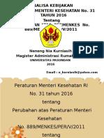 PPT Tugas Dr Hany Ttg Akreditasi FKTP