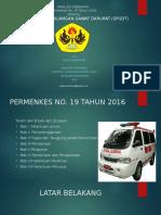 Presentasi PMK 19 tahun2016