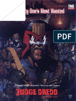 Judge Dredd Mega-City One's Most Wanted