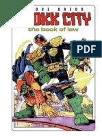 Judge Dredd Drokk City - The Book of Law