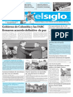 Edición Impresa Elsiglo 25-11-2016