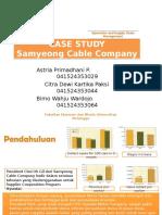 Studi Kasus Samyeong Cable Company