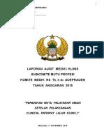 KOM DIK-Subkom MutuProfesi-Laporan Audit MedisKlinis Nov2015-###