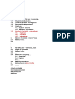 Indice Para El Informe Final
