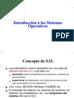 Introduccion Sistema Operativo