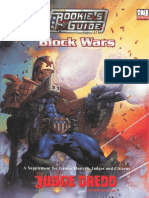 Judge Dredd the Rookie's Guide to Block Wars