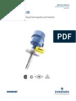 Manual Rosemount 2120 Vibrating Fork Liquid Level Switch Data1