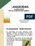 Plaguicidas Clasificaciòn por Su Composicion Quimica 2016
