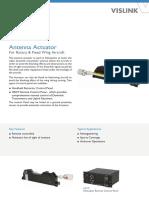 Antenna Actuator Datasheet RD001708 ENG