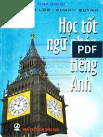 Học tốt ngữ pháp tiếng Anh. Minh Lộc, Khánh Quỳnh