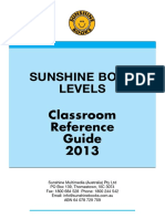 Sunshine Levels Booklet