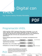 Diseño Digital Con VHDL