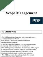 8. Project Scope & Communication Management