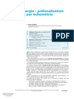 d4542-Câbles d'Énergie - Prélocalisation Des Défauts Par Échométrie