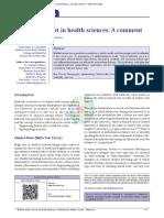 Bathtub concept in health sciences