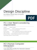 Design Discipline