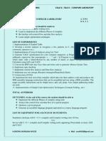 CS6612 Compiler Lab Manual