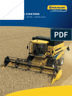 New Holland CSX7000 Manual