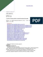 Legea Cu Privire La Funcția Publică Și Statutul Funcționarului Public Nr.158-XVI Din 04.07.2008