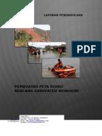 Laporan Pendahuluan Peta Risiko Bencana