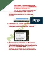 Guia de Instalacion y Transferencia de Archivos Bluetooth ES-869