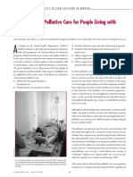 11 Supportive Palliative Care for People Living With HIV AIDS