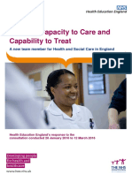 Building Capacity to Care and Capability to Treat