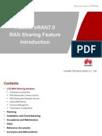 SPD ERAN7.0 RAN Sharing Feature Introduction