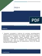 Psicodiagnóstico II- Aula i
