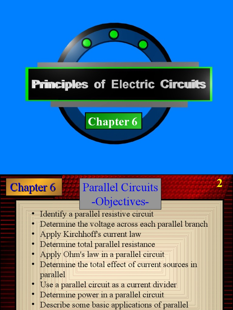 Chapter 6 Circuit 1 Series And Parallel Circuits Electrical Network Voltage Current Resistance In
