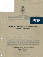 Tank, Combat, 120mm Challenger - Part 1 Automotive System