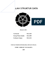 Makalah Struktur Data (Double Linked List)