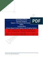 mba syllabus 2013 cbcgs pattern final pdf thesis test assessment