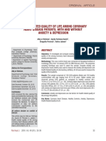HEALTH RELATED QUALITY OF LIFE AMONG CORONARY HEART DISEASE PATIENTS, WITH AND WITHOUT ANXIETY & DEPRESSION