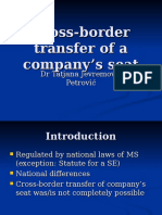 EU Company Law-Transfer of company's seat.ppt