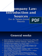 EU Company Law-Introduction and Sources.ppt