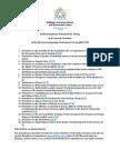 List of Draft Resolutions