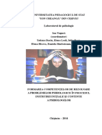 Ion Negurc483 Coord Formarea Competentelor de Rezolvare a Problemelor Psihologice Chic899inc483u 2014