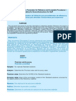 10 Assessing Validation Parameters for Reference and Acceptable Procedures ESPAÑOL - InGLÉS