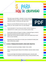 Tips de Creatividad