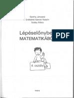 Lépéselőnyben Matematikából 3-4