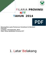 SITUASI FILARIA PROVINSI NTT_Chrysant.pptx