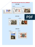 Personalitzats Sant Feliu 2009-2016