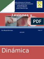 3. Lesiones y Contusiones.