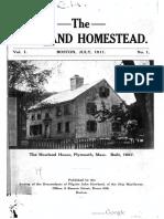The Howland Homestead 1911-1912