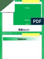 Modelo de Apresentação para categoria Comunicação Oral - XIV Mostra de Saberes 2016