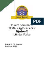 Punim Seminarik Fizike