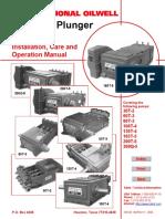 Bomba National, Manual